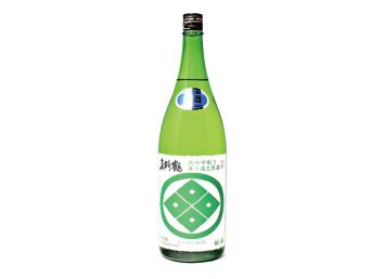 真野鶴 緑紋 純吟中取り 無濾過生原酒