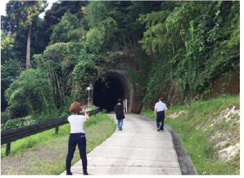 トンネル熟成庫「隧道蔵」