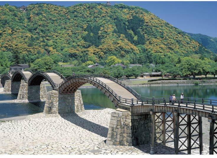 五橋の由来は、岩国の名橋・錦帯橋にちなみます